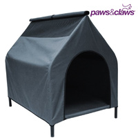 Paws N Claws Elevated Waterproof Pet Dog Kennel House