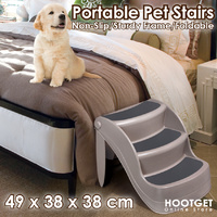 Nonslip Foldable Pet Dog Steps Stairs  - 3 Steps