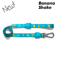 Zee.Dog Banana Shake Dog Leash - 2 Sizes