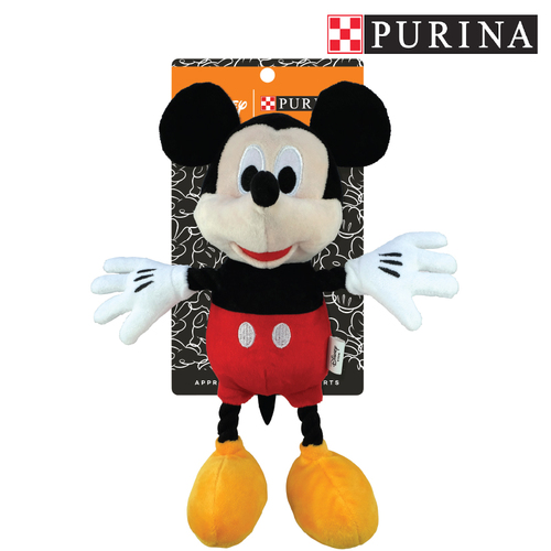 Purina Disney Mickey Mouse Plush Dog Toy