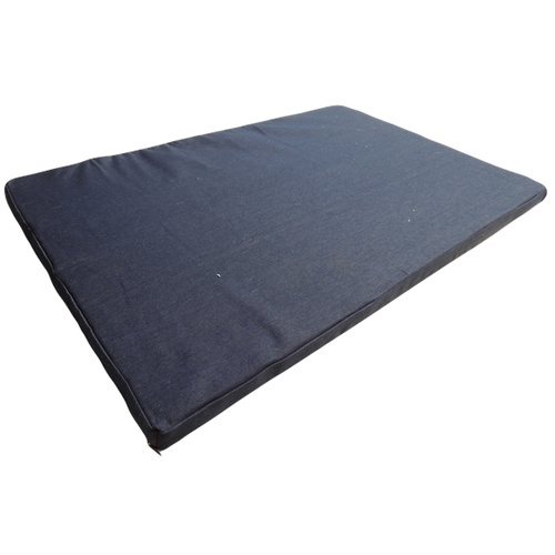 Superior Pet Goods Denim Zipper Foam Mat - Mini