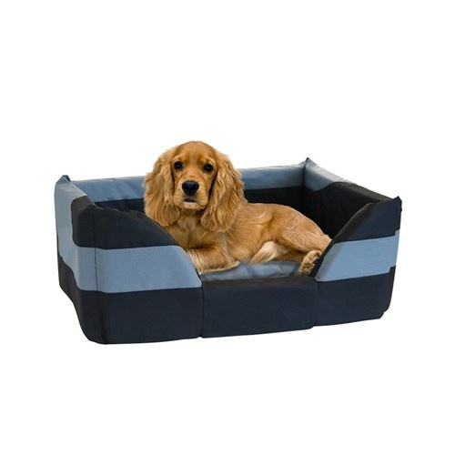 Highlander Oxford Dog Bed Basket Medium