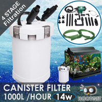 1000L/H Aquarium External Canister Foam Filter