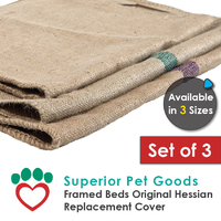 Superior Pet Goods Hessian Bed Replacement Sack