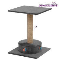 Paws & Claws Catsby Camberwell Cats Playground Sisal 57cm Scratching Post Grey